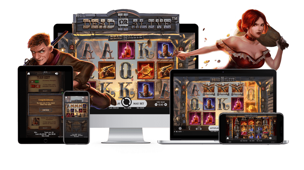 Play NetEnt casino games on Mobile Phone!