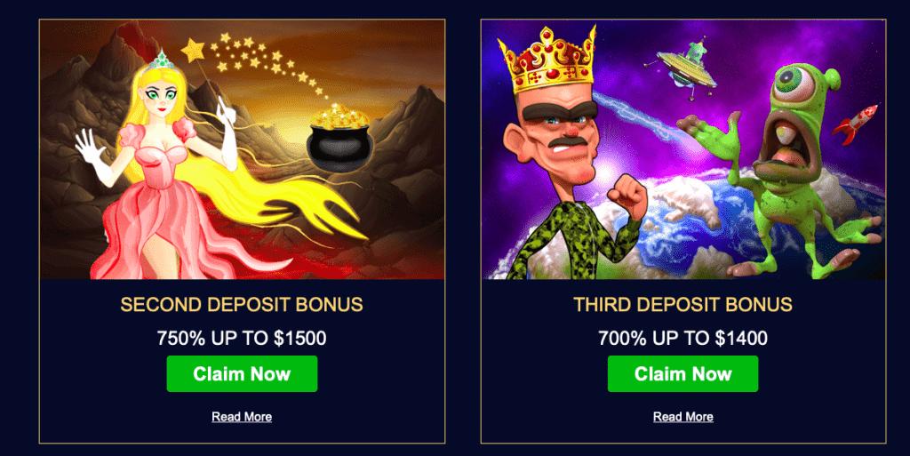 Royal Planet bonus and promotions