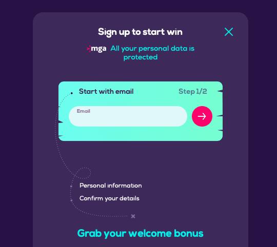 WildFortune casino registration