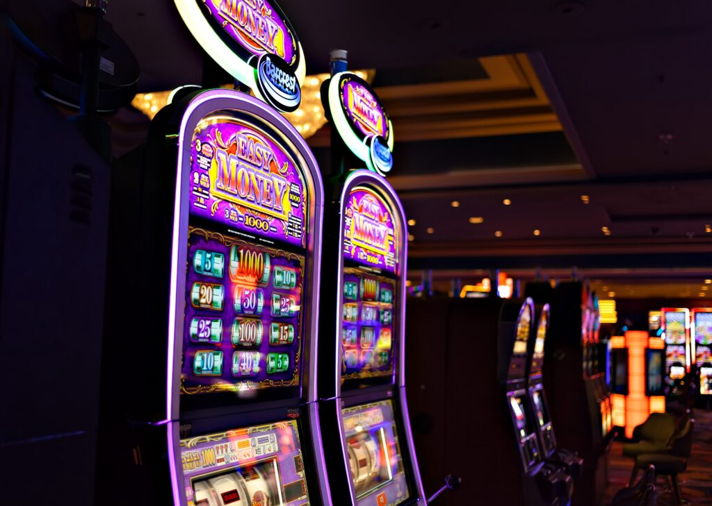 Wide Area Progressive Jackpot Slots