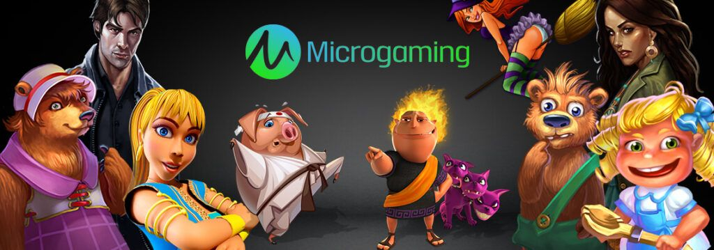 Play online casino games from Microgaming