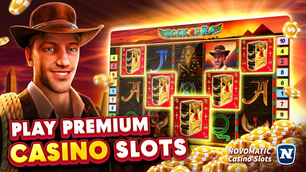 Play online casino games from Novoline (Novomatic)