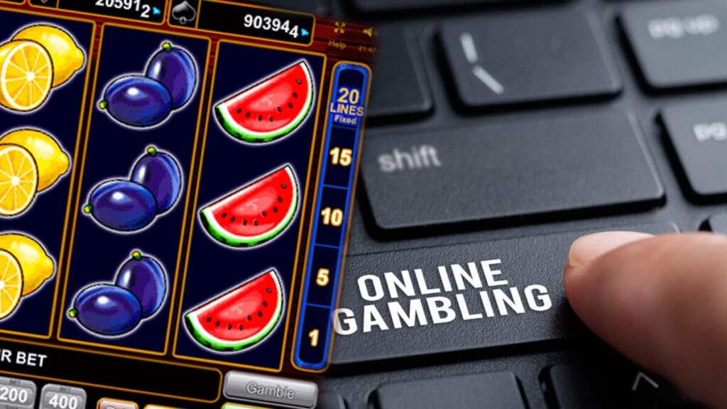 Online gambling with slot machines