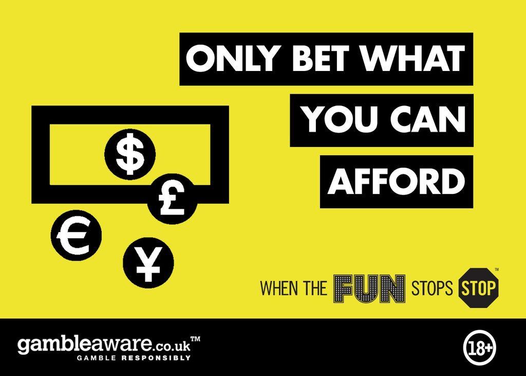 Be Gamble Aware - Gamble Responsibly
