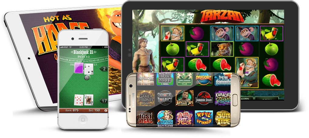 Play Microgaming casino games on Mobile Phone!